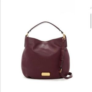 NWT Marc by Marc Jacobs Hillier Leather Satchel